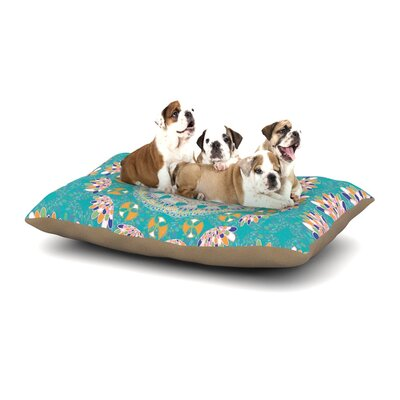 Miranda Mol Luscious Dog Pillow with Fleece Cozy Top Size: Small (40 W x 30 D x 8 H)