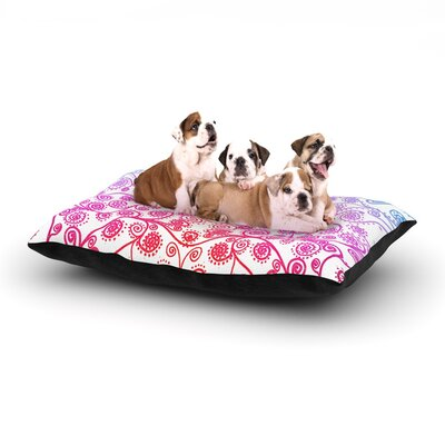 Monika Strigel Safe and Sound Dog Pillow with Fleece Cozy Top Size: Large (50 W x 40 D x 8 H)