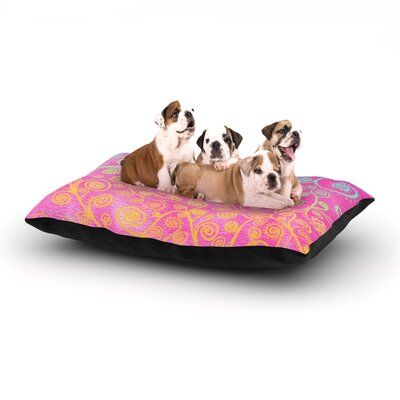 Monika Strigel Get Lucky Dog Pillow with Fleece Cozy Top Size: Small (40 W x 30 D x 8 H)