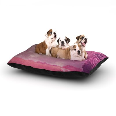 Monika Strigel Song of the Springbird Dog Pillow with Fleece Cozy Top Size: Small (40 W x 30 D x 8 H)