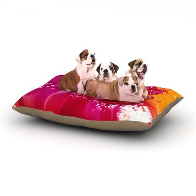 Malia Shields The Color River Dog Pillow with Fleece Cozy Top Size: Large (50 W x 40 D x 8 H)