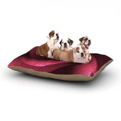 Michael Sussna Isabellas Pinwheel Dog Pillow with Fleece Cozy Top Size: Small (40 W x 30 D x 8 H)
