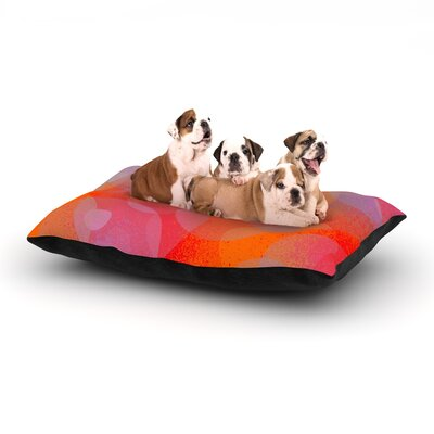 Marianna Tankelevich Six Dog Pillow with Fleece Cozy Top Size: Large (50 W x 40 D x 8 H)