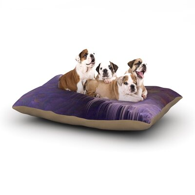 Michael Sussna Malibu Dog Pillow with Fleece Cozy Top Size: Large (50 W x 40 D x 8 H)