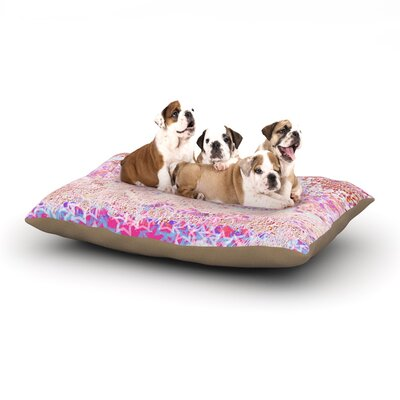 Marianna Tankelevich Broken Dog Pillow with Fleece Cozy Top Size: Small (40 W x 30 D x 8 H)
