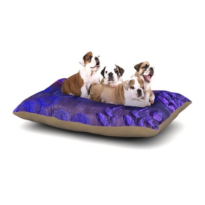 Marianna Tankelevich Summer Night Dog Pillow with Fleece Cozy Top Size: Large (50 W x 40 D x 8 H)