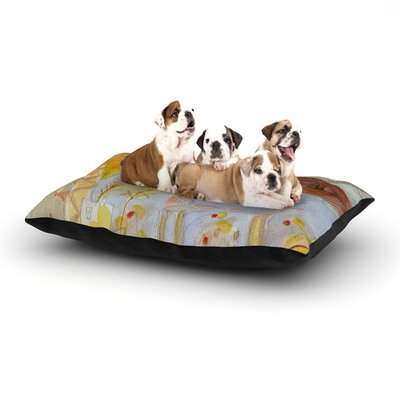 Marianna Tankelevich Promise of Magic Dog Pillow with Fleece Cozy Top Size: Large (50 W x 40 D x 8 H)