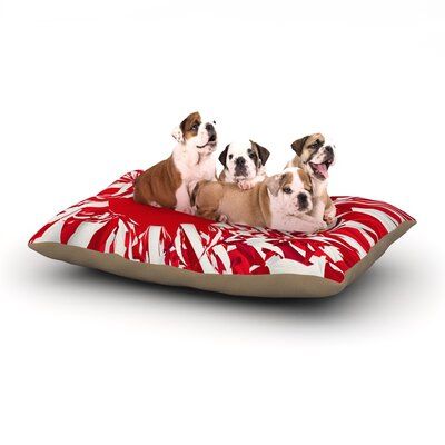 Danny Ivan Japan World Cup Dog Pillow with Fleece Cozy Top Size: Large (50 W x 40 D x 8 H)