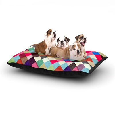 Danny Ivan Ubrik Dog Pillow with Fleece Cozy Top Size: Small (40 W x 30 D x 8 H)