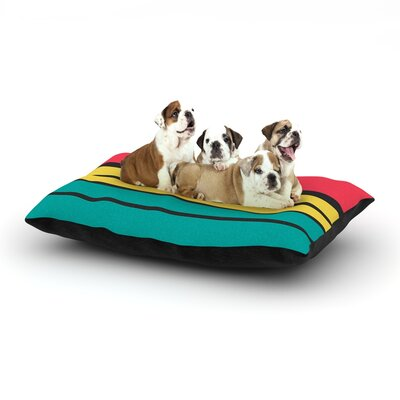 Danny Ivan Simple Dog Pillow with Fleece Cozy Top Size: Large (50 W x 40 D x 8 H)