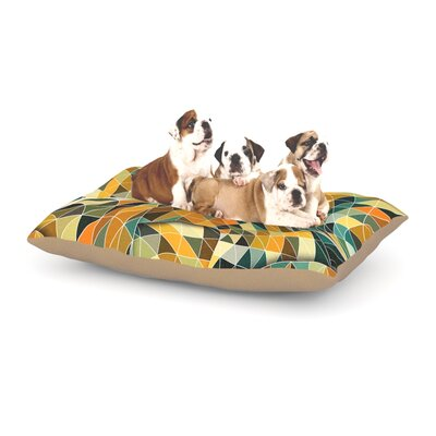 Danny Ivan Bring You Back Dog Pillow with Fleece Cozy Top Size: Large (50 W x 40 D x 8 H)