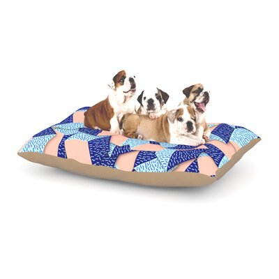 Danny Ivan Friend of the Unknown Dog Pillow with Fleece Cozy Top Size: Large (50 W x 40 D x 8 H)