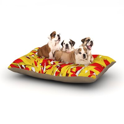 Danny Ivan Spain World Cup Dog Pillow with Fleece Cozy Top Size: Large (50 W x 40 D x 8 H)