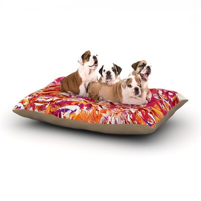 Danny Ivan You Dog Pillow with Fleece Cozy Top Size: Small (40 W x 30 D x 8 H)