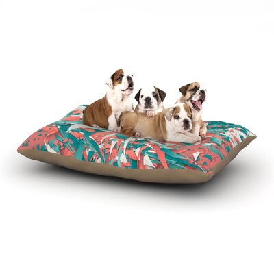 Danny Ivan Like Explosion Dog Pillow with Fleece Cozy Top Size: Small (40 W x 30 D x 8 H)