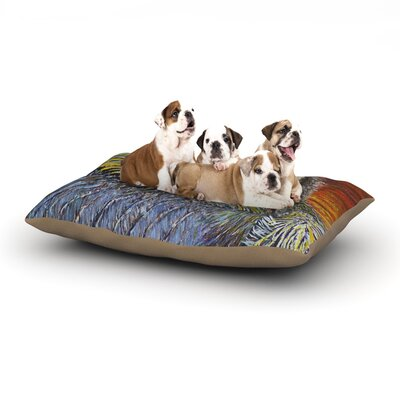 David Joyner Pelican Bird Dog Pillow with Fleece Cozy Top Size: Large (50 W x 40 D x 8 H)