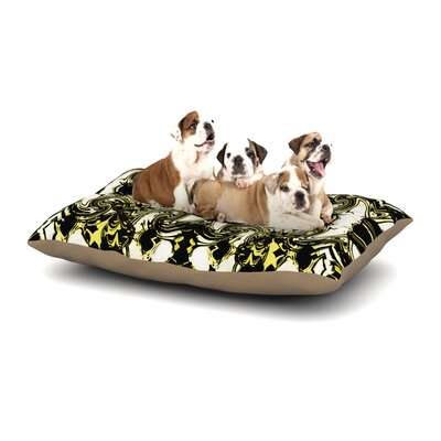 Dawid Roc The Palace Walls II Dog Pillow with Fleece Cozy Top Size: Large (50 W x 40 D x 8 H)