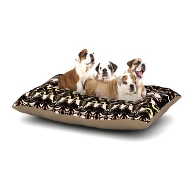 Dawid Roc The Palace Walls Dog Pillow with Fleece Cozy Top Size: Large (50 W x 40 D x 8 H)