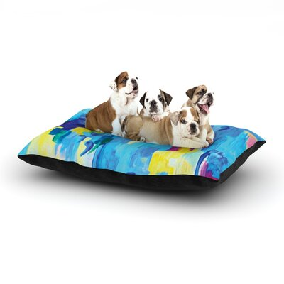 Ebi Emporium Dont Quote Me, Revisited Dog Pillow with Fleece Cozy Top Size: Small (40 W x 30 D x 8 H)