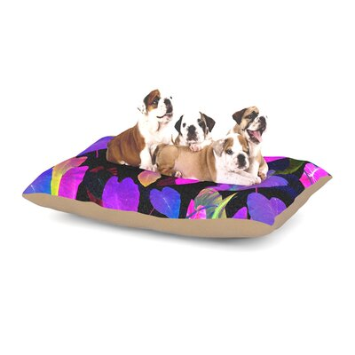 Fernanda Sternieri Fluo Jungle Dog Pillow with Fleece Cozy Top Size: Small (40 W x 30 D x 8 H)
