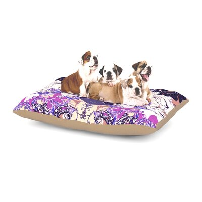 Fernanda Sternieri Barroque in Love Dog Pillow with Fleece Cozy Top Size: Small (40 W x 30 D x 8 H)