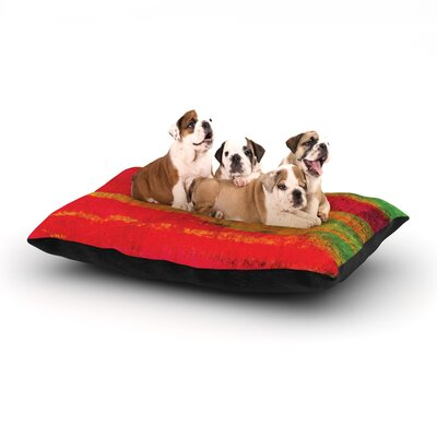 Ebi Emporium Fierce Dog Pillow with Fleece Cozy Top Size: Small (40 W x 30 D x 8 H)