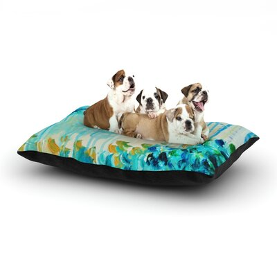 Ebi Emporium Poseidons Wrath Dog Pillow with Fleece Cozy Top Size: Large (50 W x 40 D x 8 H)