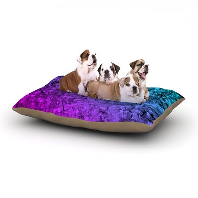 Ebi Emporium Romance Me at Midnight Dog Pillow with Fleece Cozy Top Size: Small (40 W x 30 D x 8 H)