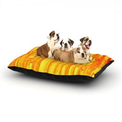 Ebi Emporium Summer Sentiments Dog Pillow with Fleece Cozy Top Size: Large (50 W x 40 D x 8 H)