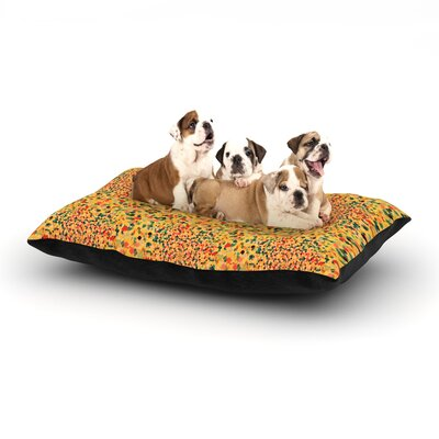 Ebi Emporium Swept Away II Dog Pillow with Fleece Cozy Top Size: Large (50 W x 40 D x 8 H)