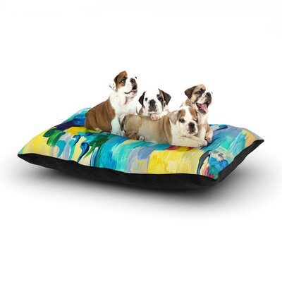Ebi Emporium Dont Quote Me Dog Pillow with Fleece Cozy Top Size: Large (50 W x 40 D x 8 H)