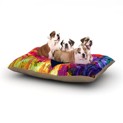 Ebi Emporium Be Bold Brazen Beautiful Dog Pillow with Fleece Cozy Top Size: Small (40 W x 30 D x 8 H)