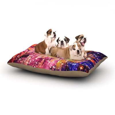 Ebi Emporium Out There Dog Pillow with Fleece Cozy Top Size: Large (50 W x 40 D x 8 H)