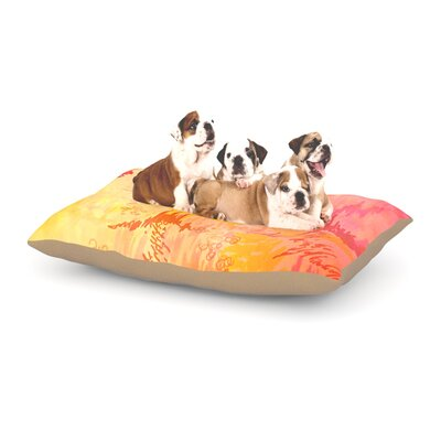 Ebi Emporium Sky Risers II Dog Pillow with Fleece Cozy Top Size: Small (40 W x 30 D x 8 H)