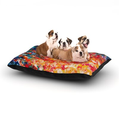 Ebi Emporium The Clash Dog Pillow with Fleece Cozy Top Size: Large (50 W x 40 D x 8 H)