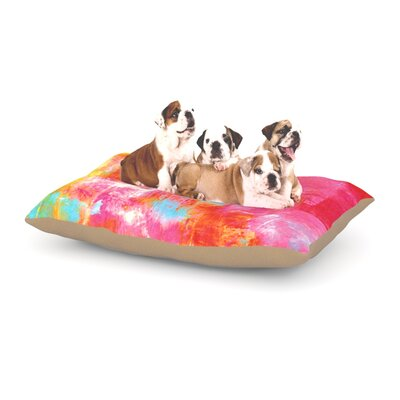 Ebi Emporium Off the Grid III Dog Pillow with Fleece Cozy Top Size: Small (40 W x 30 D x 8 H)
