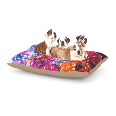 Ebi Emporium 'Sky Risers' Dog Pillow with Fleece Cozy Top Size: Small (40