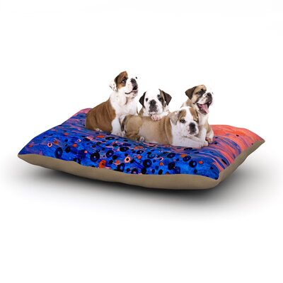 Ebi Emporium What Goes Up Dog Pillow with Fleece Cozy Top Size: Large (50 W x 40 D x 8 H)