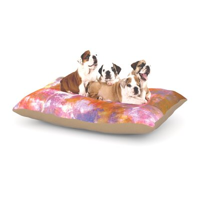 Ebi Emporium Off the Grid II Painting Dog Pillow with Fleece Cozy Top Size: Large (50 W x 40 D x 8 H)