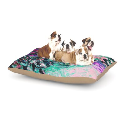 Ebi Emporium Romantic Getaway Dog Pillow with Fleece Cozy Top Size: Large (50 W x 40 D x 8 H)