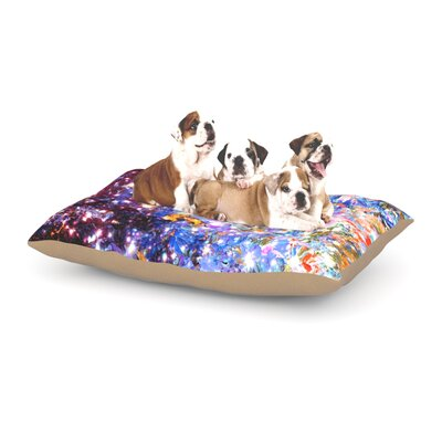 Ebi Emporium Midnight Serenade Dog Pillow with Fleece Cozy Top Size: Large (50 W x 40 D x 8 H)