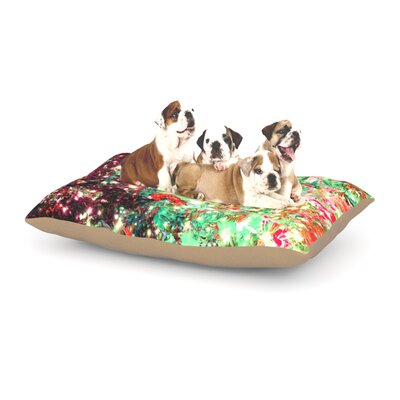 Ebi Emporium Mistletoe Nebula Dog Pillow with Fleece Cozy Top Size: Small (40 W x 30 D x 8 H)