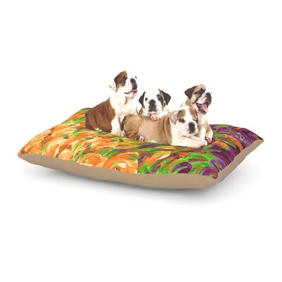 Ebi Emporium Follow the Current III Dog Pillow with Fleece Cozy Top Size: Large (50 W x 40 D x 8 H)