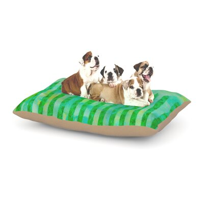 Ebi Emporium Fancy This Dog Pillow with Fleece Cozy Top Size: Small (40 W x 30 D x 8 H)