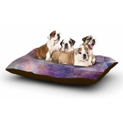 Suzanne Carter Geometric Stars Dog Pillow with Fleece Cozy Top