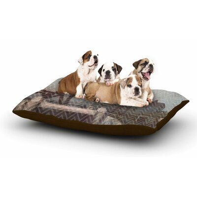 Suzanne Carter 'Away' Dog Pillow with Fleece Cozy Top
