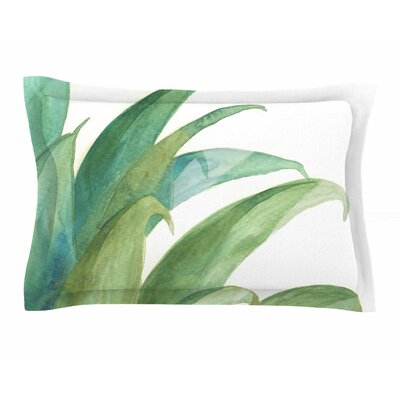 Viviana Gonzalez Botanical Vibes 03 Watercolor Sham Size: King
