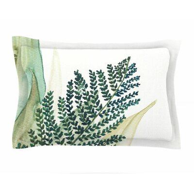 Viviana Gonzalez Botanical Vibes 02 Watercolor Sham Size: Queen