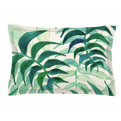 Viviana Gonzalez Botanical Vibes Watercolor Sham Size: King