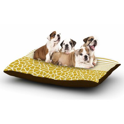 Trebam Staklo (Gold) Digital Dog Pillow with Fleece Cozy Top